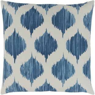 Ogee Cotton Throw Pillow Cover