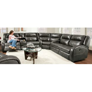 Southern Motion Maverick Leather Reclining Sectional