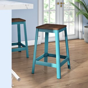 Achilles 25.75 Bar Stool Breakwater Bay
