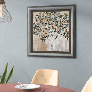 gray and teal wall art wayfair