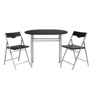 Findlay Folding Dining Set With 2 Chairs By Brayden Studio