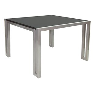 Icon Aluminum Dining Table by Leona Great price