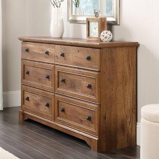 Three Posts Orviston 6 Drawer Double Dresser