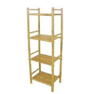 Rebrilliant Tier Bamboo Etagere Bookcase
