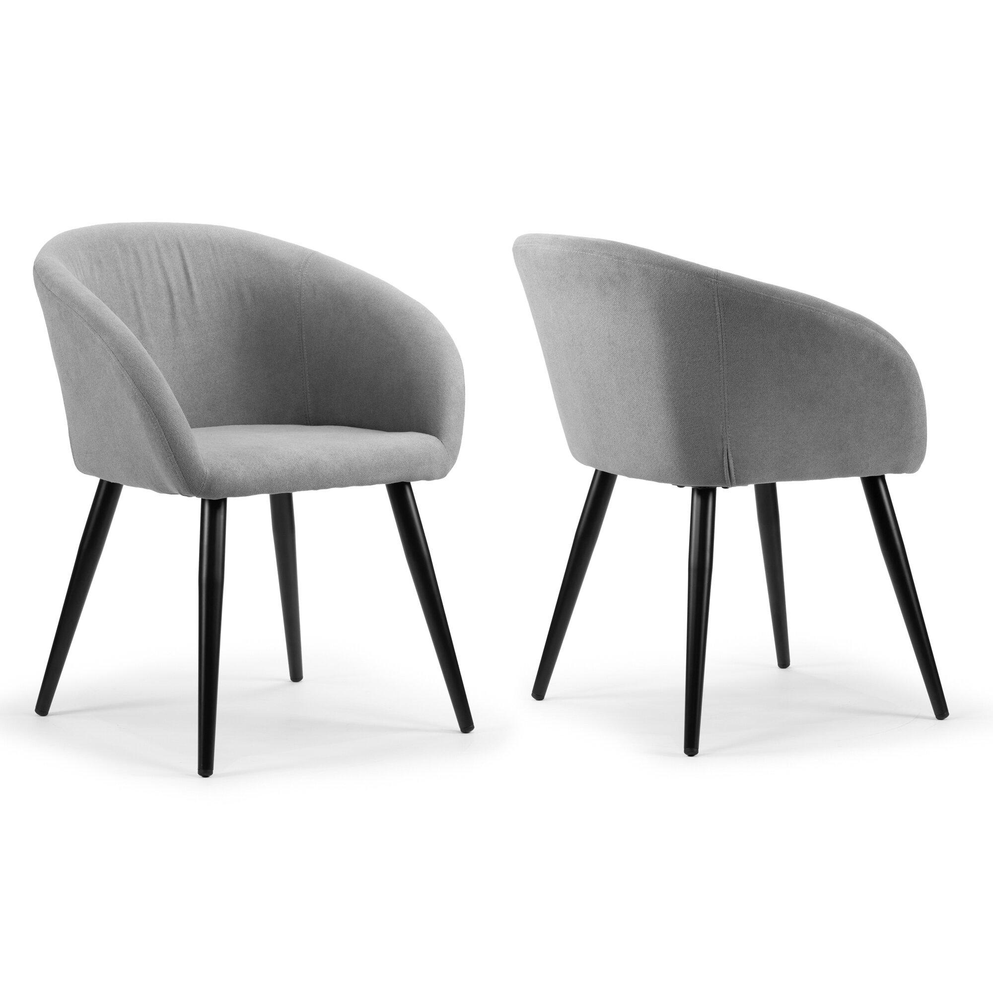 Wrought Studio Fernada Upholstered Dining Chair Reviews Wayfair