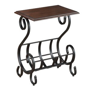 Willa Chairside Table by Crown Mark