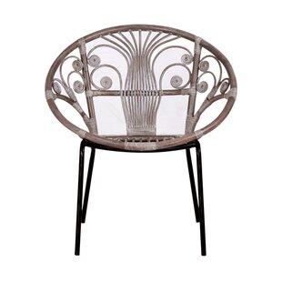 Hafley Papasan Chair by Bungalow Rose