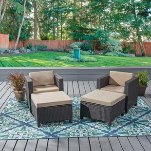 Furst Patio Chair with Cushion by Wade Logan