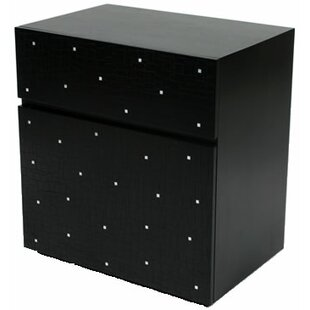 Cubo 1 Door Accent Cabinet by Indo Puri