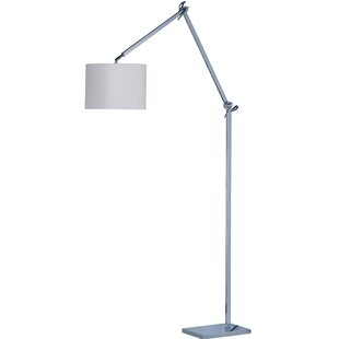 Online Reviews Wona 48 LED Task Floor Lamp By Latitude Run