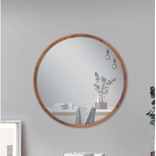 Broyhill Round Wood Mirrors Wayfair
