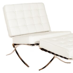 Savoye Lounge Chair by Lazzaro Leather
