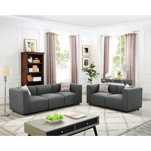 Lotte 2 Piece Living Room Set by Wrought Studio