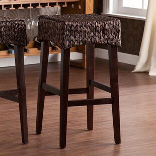 Albury Bar Stool (Set of 2) Beachcrest Home