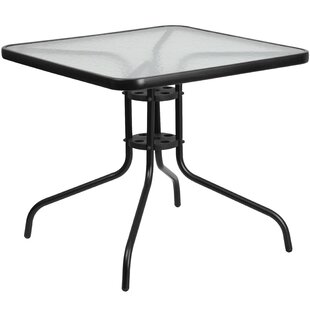 McKinley Glass Dining Table by Charlton H..