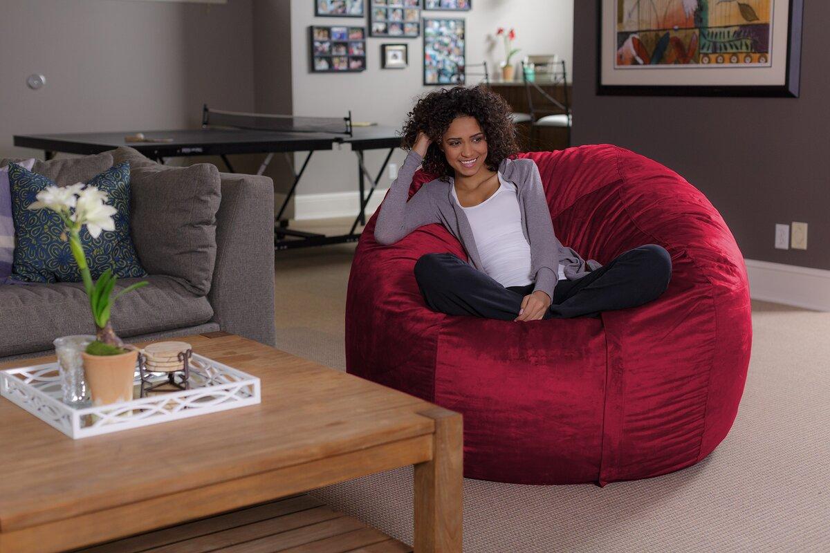 bean bag sofa latitude run bean bag sofa  u0026 reviews   wayfair  rh   wayfair