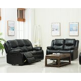Jayesh 2 Piece Reclining Living Room Set by Red Barrel Studio®