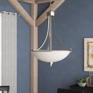 Andover Mills Castano 3-Light Bowl Pendant