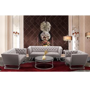Borchert Configurable Living Room Set by Willa Arlo Interiors