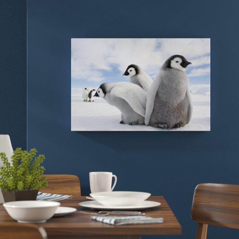 Home Loft Concept Group of Emperor Penguin Children Wall Art on ...