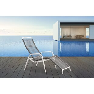 Kennebec Reclining Sun Lounger By Sol 72 Outdoor
