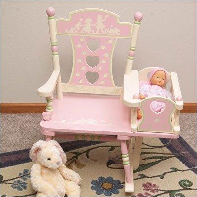 Wildkin Rock A My Baby Kids Rocking Chair