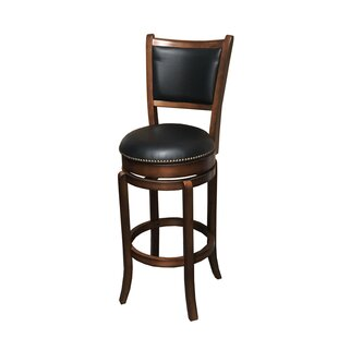 Lenny 30 Swivel Bar Stool by Millwood Pines