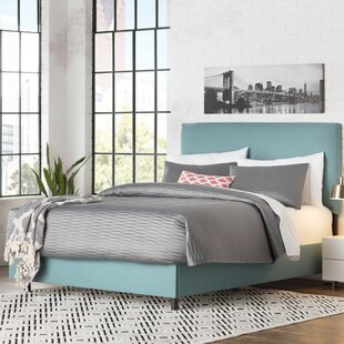 Upholstered Panel Bed by Brayden Studio