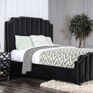 Canora Grey Mcneal Syed upholstered Panel Bed