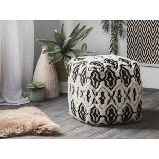 Cecille Pouf by Bungalow Rose