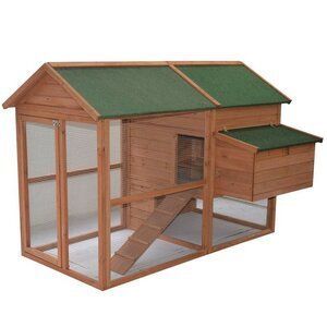 Wooden Backyard Hen House Chicken Coop