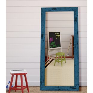 Affordable Dorian Vintage Blue Barnwood Wall Mirror By Hitchcock Butterfield Company