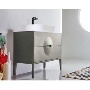 Colmar 35 Single Bathroom Vanity Set by KartonRepublic