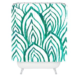 Rebecca Allen Emerald Coast Single Shower Curtain