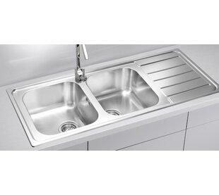 Double Bowl Sink | Wayfair.co.uk
