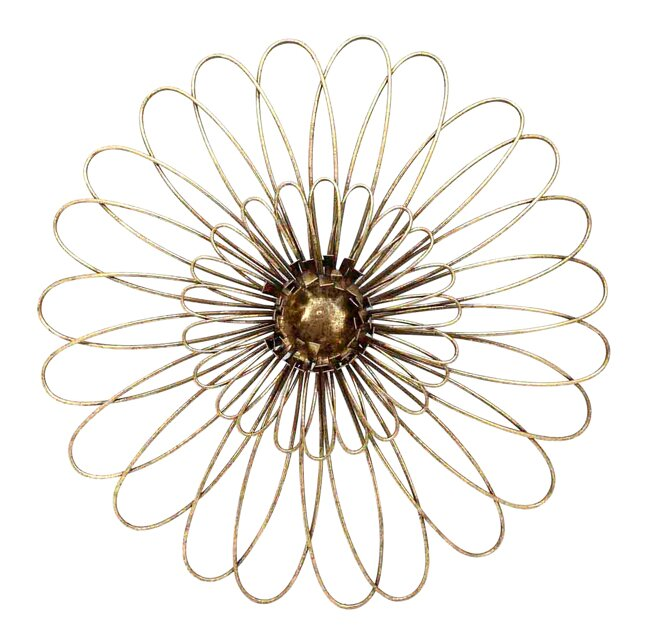 Metal Flowers Wall Decor sagebrook home metal flower wall décor & reviews | wayfair