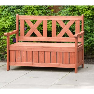 Solid Wood Storage Bench