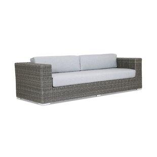 Sunset West Emerald II Patio Sofa with Sunbrella Cushion