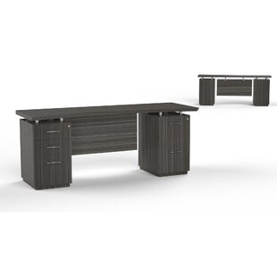 Sterling Executive Desk With 3 Right & 2 Left Drawers by Mayline Group