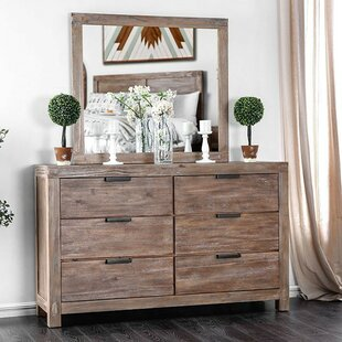 Atia 6 Double Dresser with Mirror