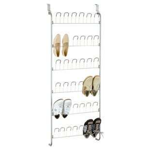 Affordable 18 Pair Overdoor Shoe Organizer By Organize It All