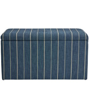 Evalyn Cotton Upholstered Storage Bench by Breakwater Bay