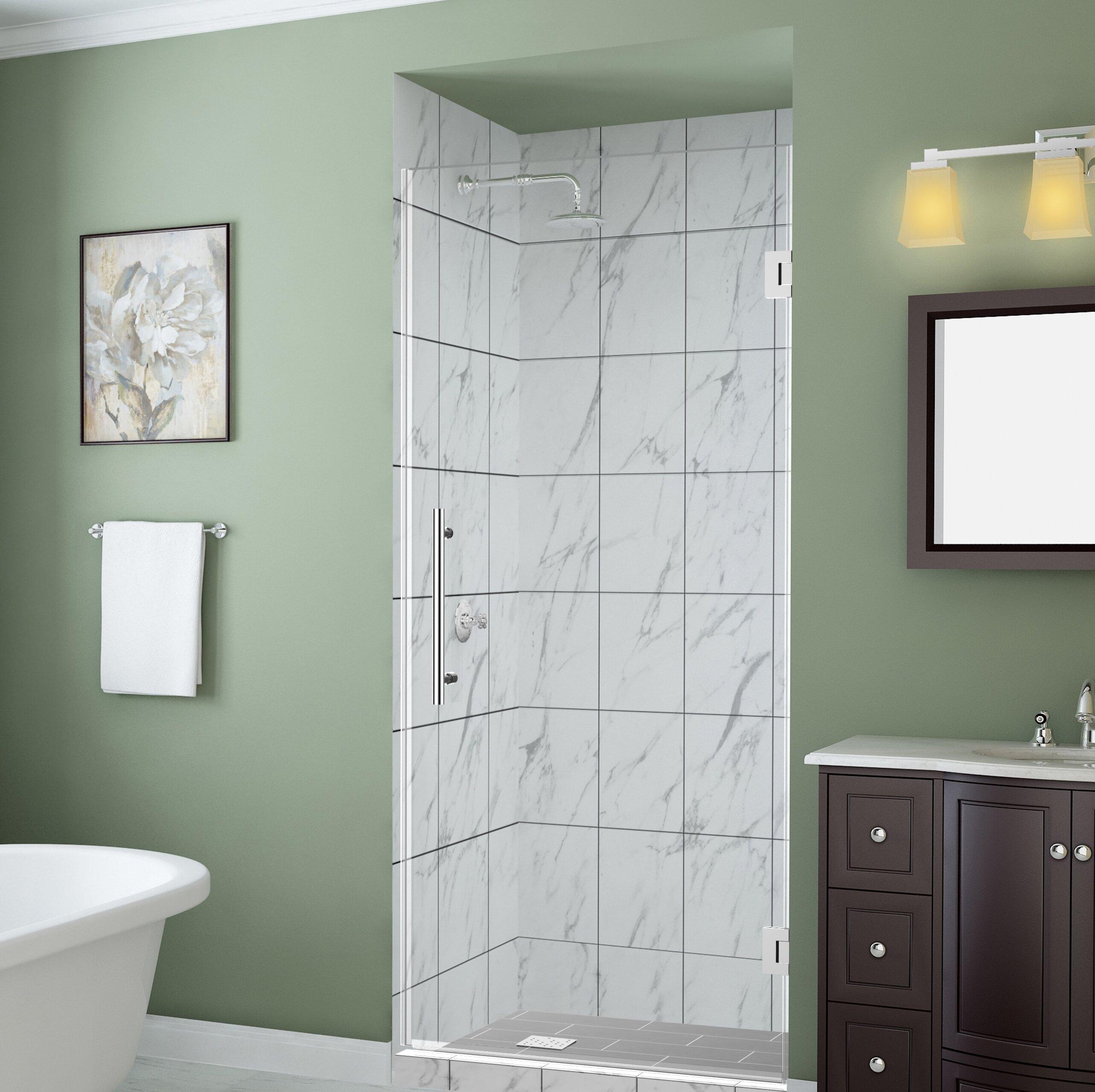 Belmore Gs 62 X 72 Hinged Frameless Shower Door