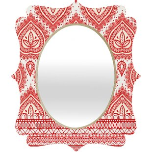 East Urban Home Decorative 1 Quatrefoil Mirror