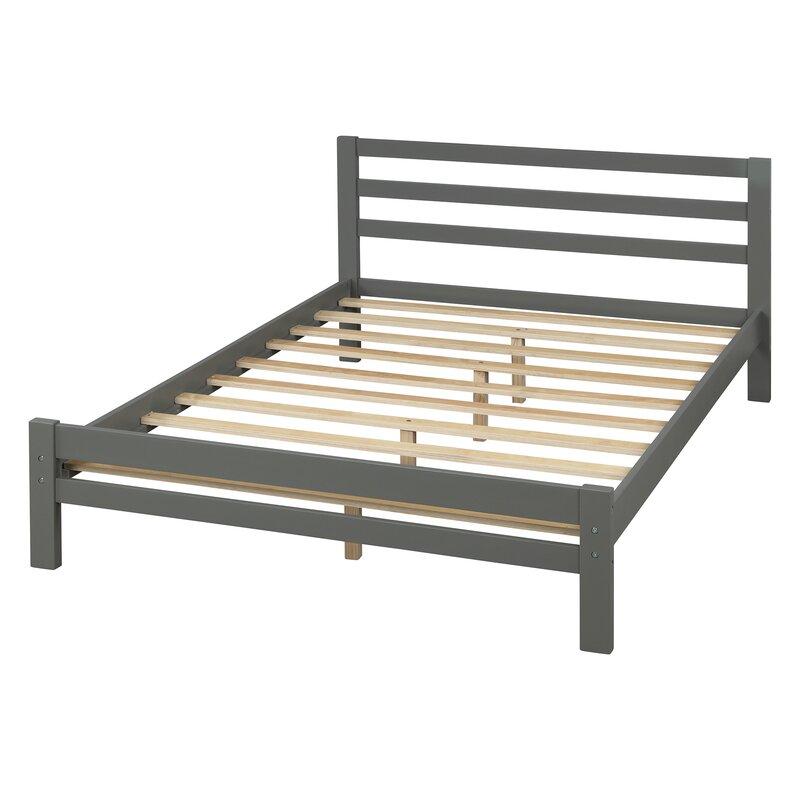 Latitude Run Chonte Full Double Low Profile Storage Platform Bed Wayfair