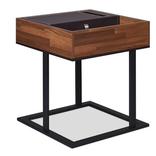 Farah End Table with Storage by 17 Stories