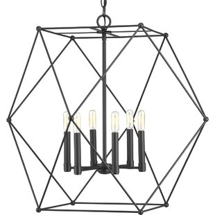 Wrought Studio Cecere 6-Light Pendant