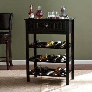 Darby Home Co Raabe 15 Bottle Floor Wine Rack