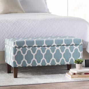 Vine Upholstered Storage Bench by Rosdorf Park