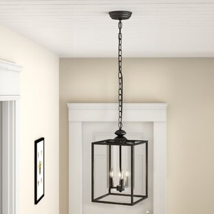 Great choice Chesson 3-Light Square/Rectangle Pendant By Gracie Oaks